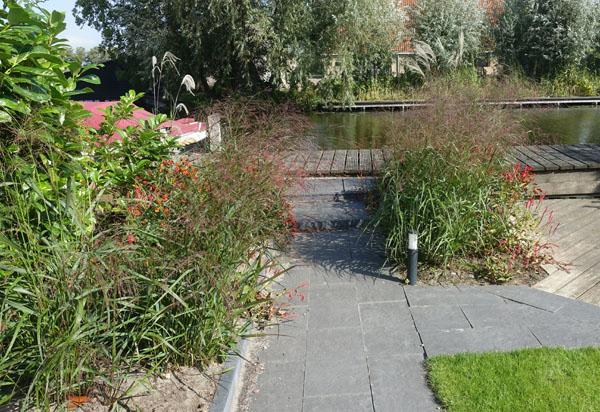 Tuin aan het water torren tuinadvies.nl